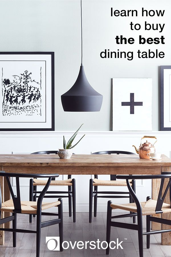 There's lot's to consider when buying a dining room table. Let Overstock help you pick the perfect table for your family or hosting needs! Click to learn more.