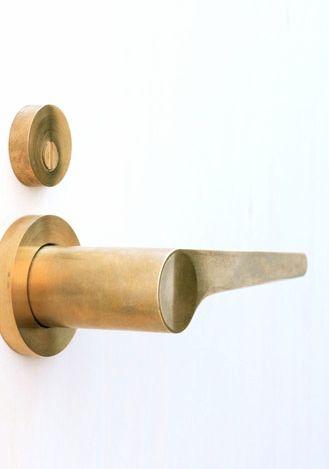 Detail interior design home decor Maniglia design Door Handle+