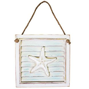 Starfish Wall Plaque