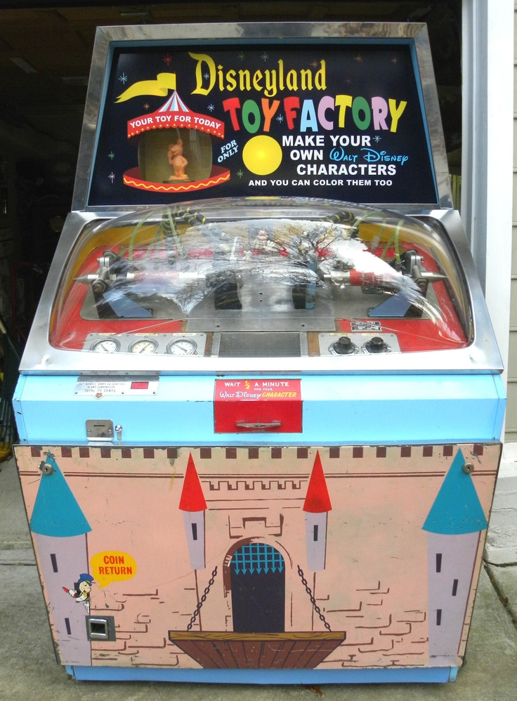 1964 Disney Toy Factory Mold A Rama Machine Fully Working Original Conditn | eBay sold for $10,000.00!
