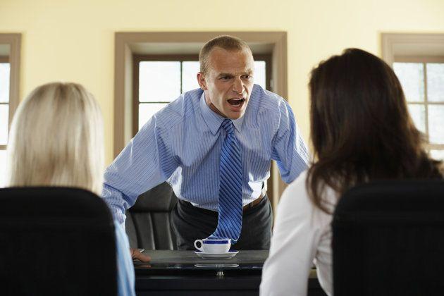 What bad bosses say