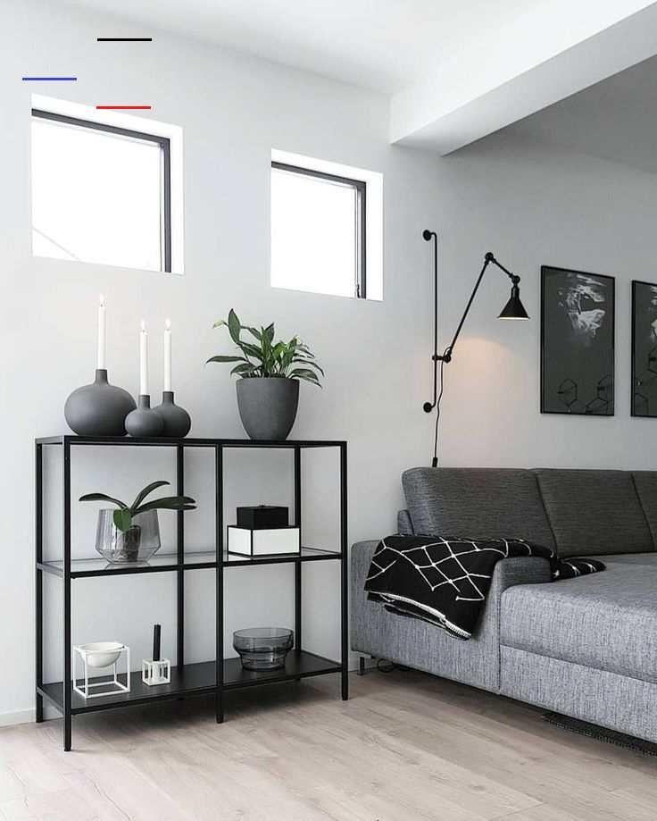 White Minimalistinterior Design: 30 Stilvolle Graue Wohnzimmer-Ideen, Zum Sie Anzuspornen