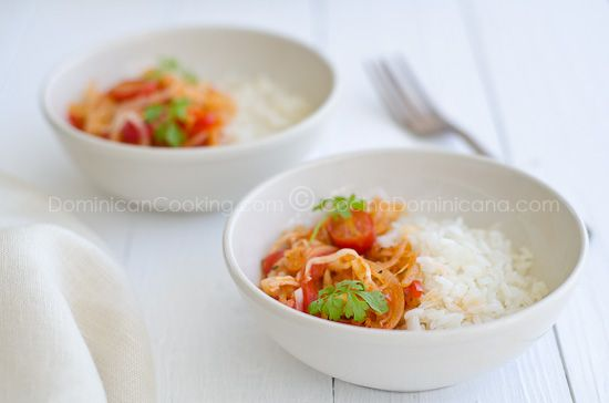 Repollo guisado (Cabbage stew)