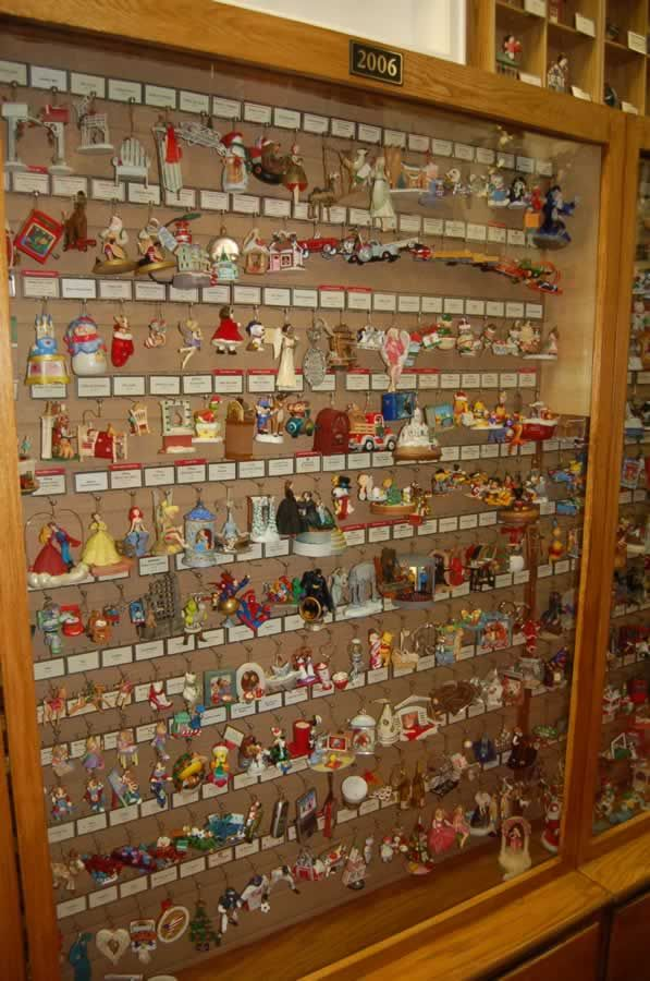 The only public-access display of every Hallmark ornament ever made is at The Party Shop Hallmark museum in Warsaw, Indiana.