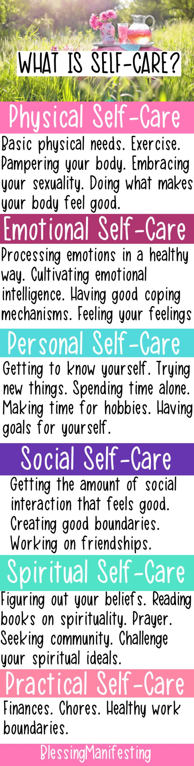 self-care pin