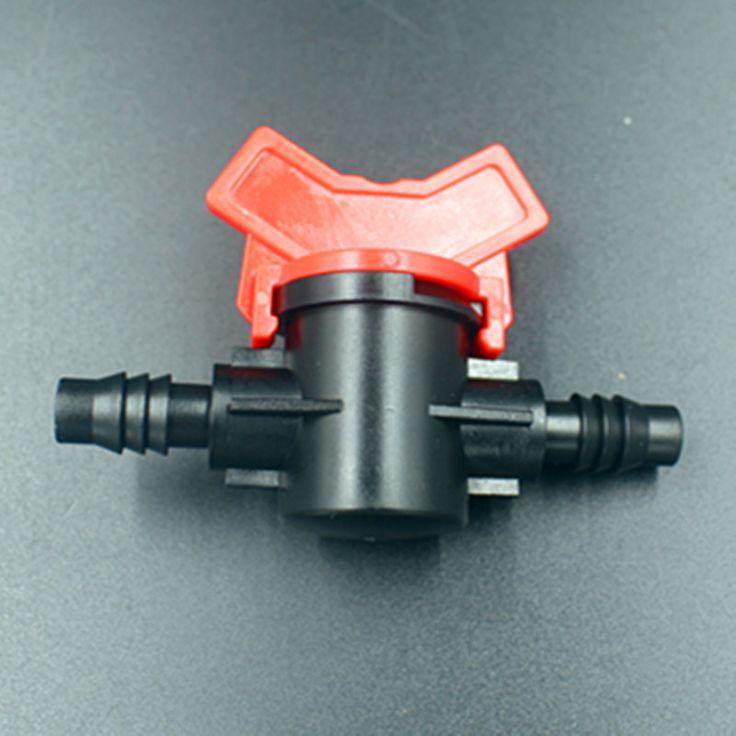 3/8  прямо клапан колючая клапаны переключатель для 8 мм / 11 мм и 9 мм / 12 мм трубки микро капельное орошение разъем OHA1153