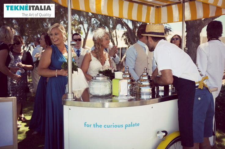 The perfect ice cream ( #helados #gelato ) cart 4 your #wedding #matrimonio Chicho Gelato client - Western Australia