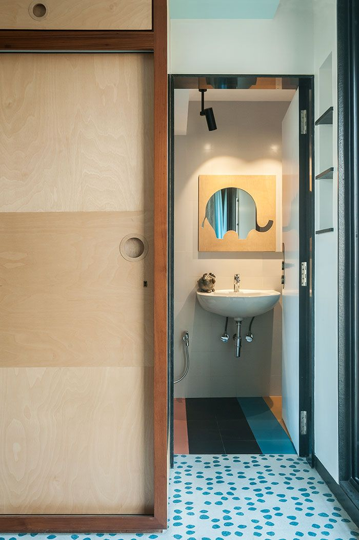 Muselab Tiles An Apartment In Mumbai With 21st Century Art Deco Sophistication Interior Windows Art Deco Yellow Bathrooms