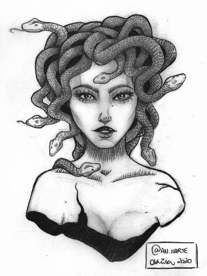 Medusa Tattoo Design, Sketch Tattoo Design, Tattoo Sketches, Tattoo Drawings, Tattoo Designs, Creepy Tattoos, Leo Tattoos, Pin Up Tattoos, Body Art Tattoos