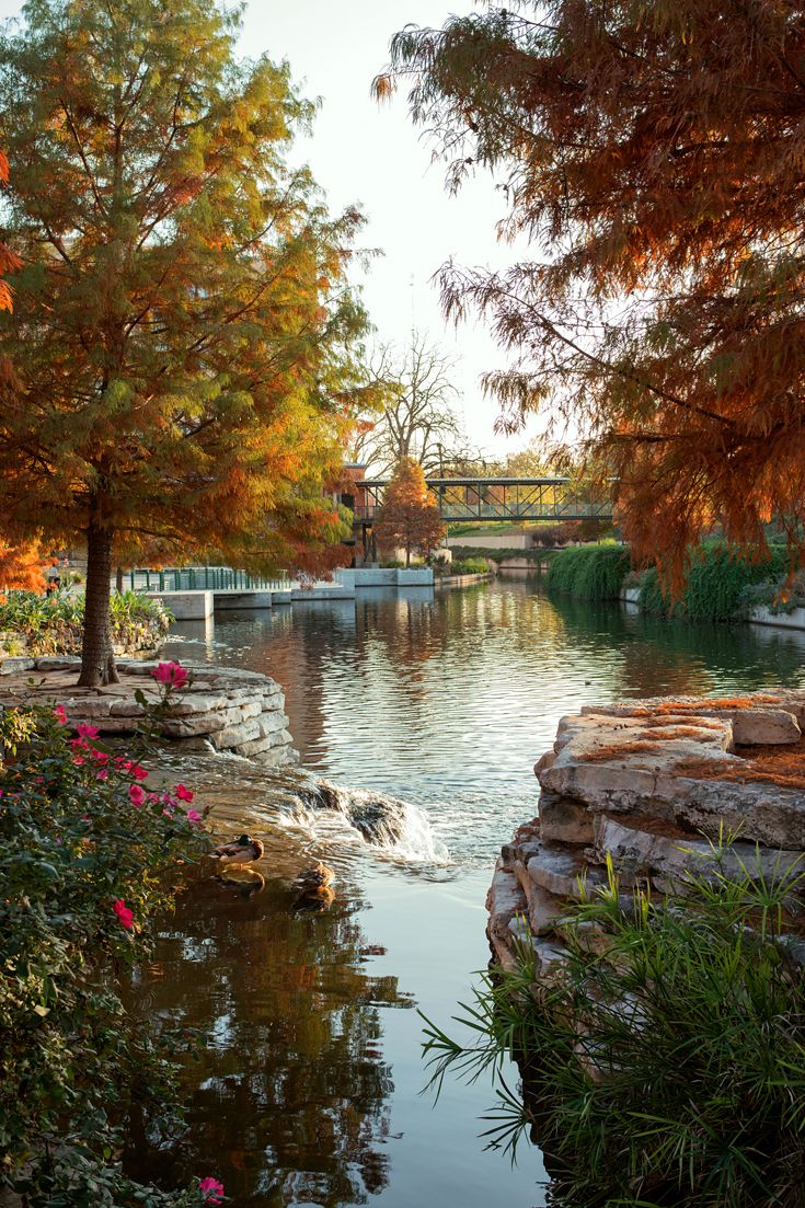 San Antonio's riverside promenade, River Walk, one of Texas's most visited attractions, was expanded in 2013 from three to 15 miles. The River Walk now reaches the redeveloped Pearl Brewery, home to restaurants, a cooking school and, in spring, the 146-room Hotel Emma from Kimpton Hotels. (Photo: Malú Alvarez for The New York Times)
