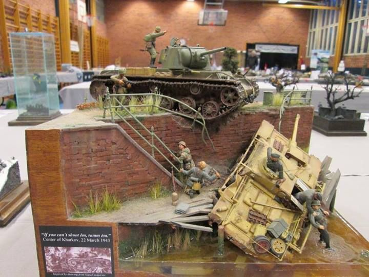 3646 best awesome dioramas images on pinterest diorama for Scale model ideas
