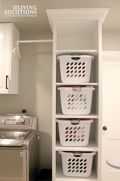 Best 25+ Laundry room baskets ideas on Pinterest | Laundry closet ...