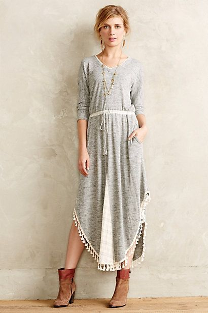 Tasseled Maxi Dress - anthropologie.com $138