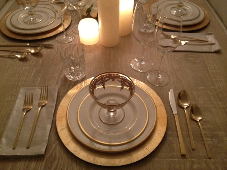 lenox eternal table ideas | Womanista Decor: Thanksgiving Tabletop Decor | Womanista
