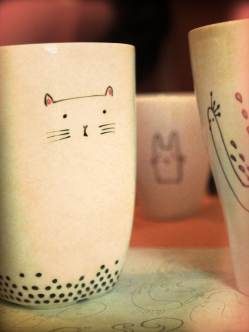 Cup Cat by Sobi