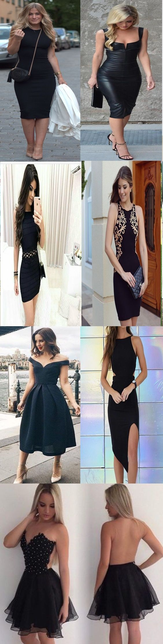 Muitas pessoas têm dúvidas de como usar vestidos pretos curtos para festa. Apesar de ser um clássico e perfeito para todas as ocasiões, os vestidos pretos com o comprimento menor precisa ser escolhido com cuidado para ficar adequado para o ambiente de festa.