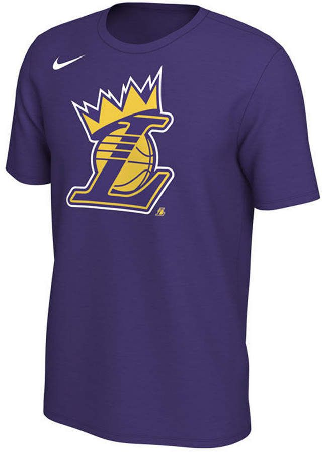 f43711c8a2c Nike Men s LeBron James Los Angeles Lakers King s Crown T-Shirt