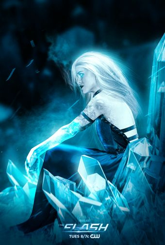 Marry Christmas everybody, here is some Danielle Panabaker Killer Frost to celebrate <3 - The Flash CW Killer Frost by Bosslogic