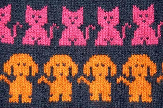Χειροτεχνήματα: Σχέδια ζακάρ για παιδικά πλεκτά / Intarsia knitting patterns for children