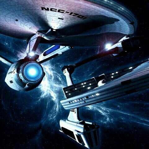Star Trek - USS Enterprise & USS Reliant                            http://buyactionfiguresnow.com