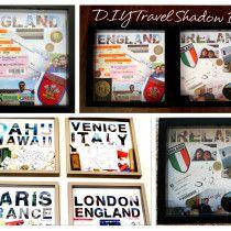 D.I.Y Travel Shadow Box