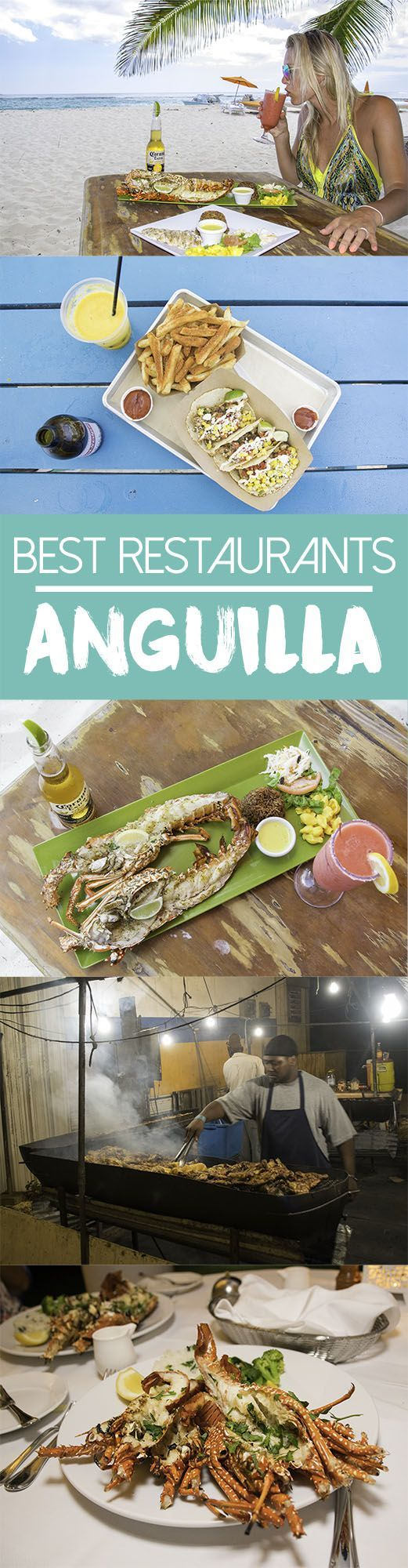 Anguilla may be a small island but it has a great food scene with a large variety of cuisines. The best restaurants in Anguilla will not disappoint.