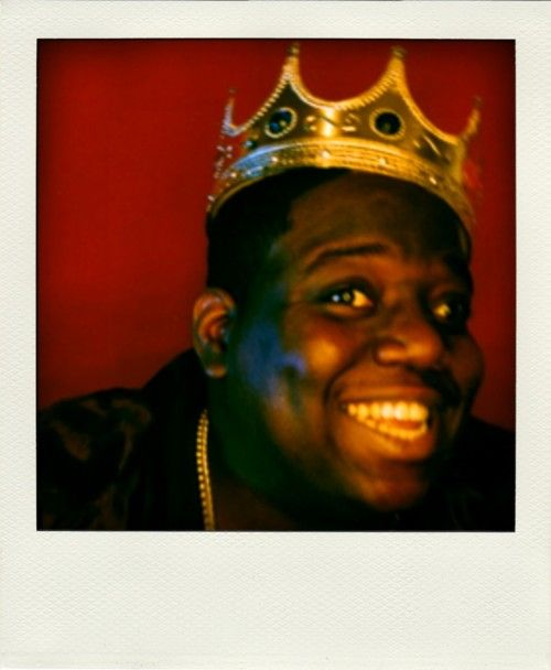 Love this shot of Biggie Smalls.