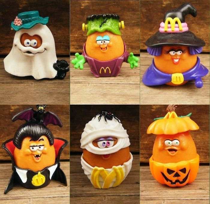 Mcdonalds Halloween Contest 2020 These Mcdonalds Halloween Chicken Nugget Toys in 2020   Mcdonalds