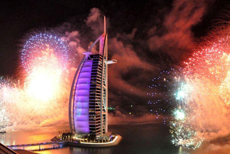 Silvester in Dubai 2010/2011