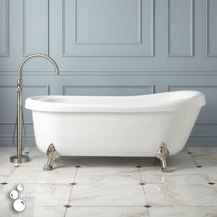 "73"" Jackson Acrylic Clawfoot Air Tub - Bathtubs - Bathroom"