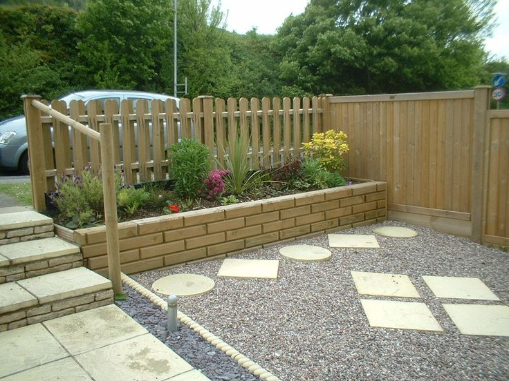 7 best front garden fencing ideas images on pinterest front a front garden that is using jacksons tongue and groove panels to separate the garden from workwithnaturefo