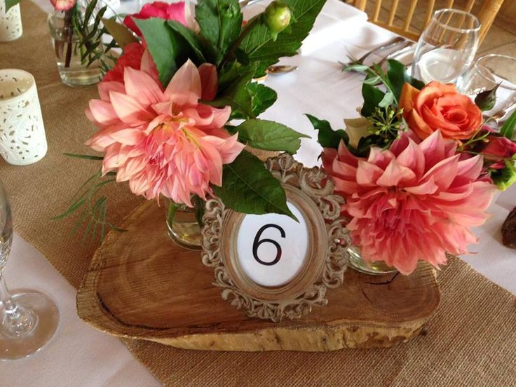 Table number ideas! Beautifully styled by @visuallycr8tive! | Historic Eschol Park House
