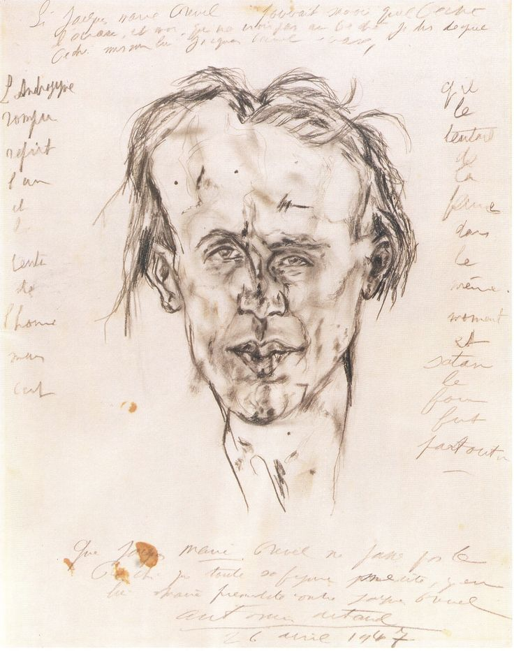 antonin artaud self portrait