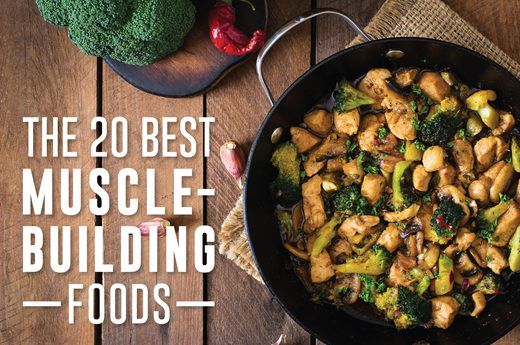 The 20 Best Muscle-Building Foods