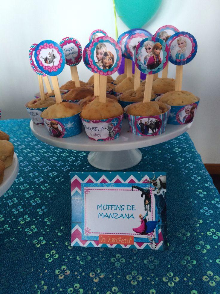 Muffins de manzana - Fiesta Frozen