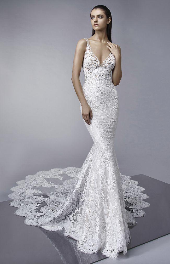 Underbara Enzoani bröllopsklänningar som du inte får missa