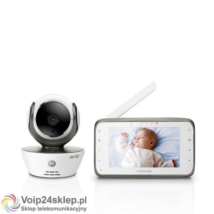 Elektroniczna niania Motorola MBP 854 connect #elektronicznaniania #Motorola #nianiawideo #babymonitor
