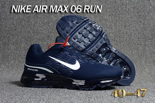 Cheap Nike Air Max 360 Flyknit Men shoes Dark Blue White For Discount Only Price $67 To Worldwide and Free Shipping WhatsApp:8613328373859