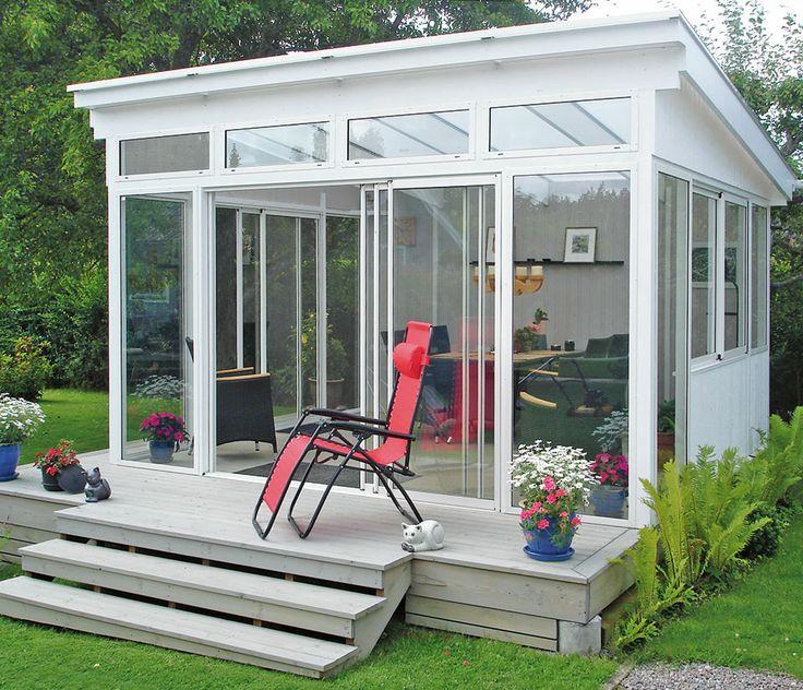 Hagestue - husets ekstrarum i hagen som fylles med liv, dufter og farger - Willab Garden