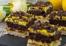 """Prăjitură """"Raffaello in două culori""""cu cremă de vanilie, rapidă si gustoasă"""