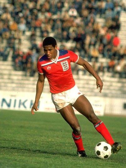 John Barnes (England, 1983–1995, 79 caps, 11 goals) www.classicfootballshirts.co.uk