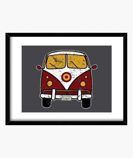 Cuadro vintage.  #deco #decoracion #style #estilo #vintage #surf #playa #retro #regalos para el #olas #coche #original #motor #hipster #regalosoriginales #verano #hipsters #hippie #van #surfers #paraella #populares de moda #furgoneta #rojo #blanco #amarillo #furgo #parael #chico #chica     http://amp.gs/lOCF)