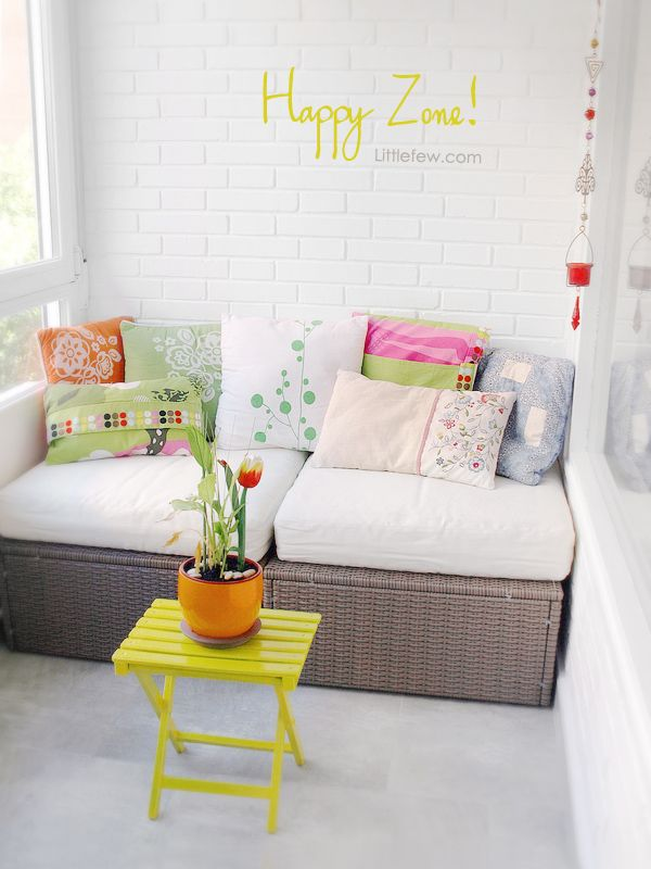 Lovely Balcony - really in love with this little corner...