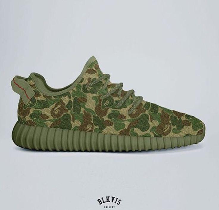 Adidas Yeezy Camouflage
