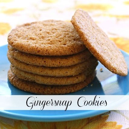 Gingersnap Cookies | Recipe | Computers, Cookies and Chang'e 3