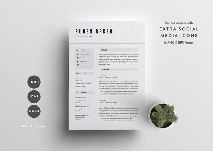 53 best design images on Pinterest - sa good resume example