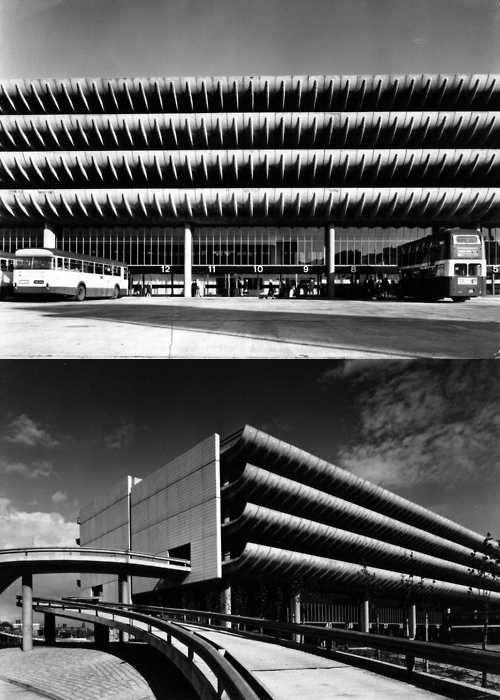 Brutalist Architecture // Preston Bus Station / Preston UK