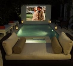 outdoor movie theatre