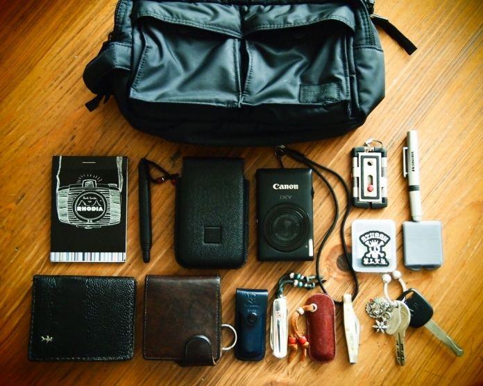 MyCarで近所のお出かけ用 | jojiのバッグの中身 - インマイバッグ