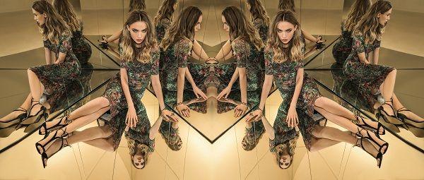 Tükröződés inspirálta szimmetrikus minták!